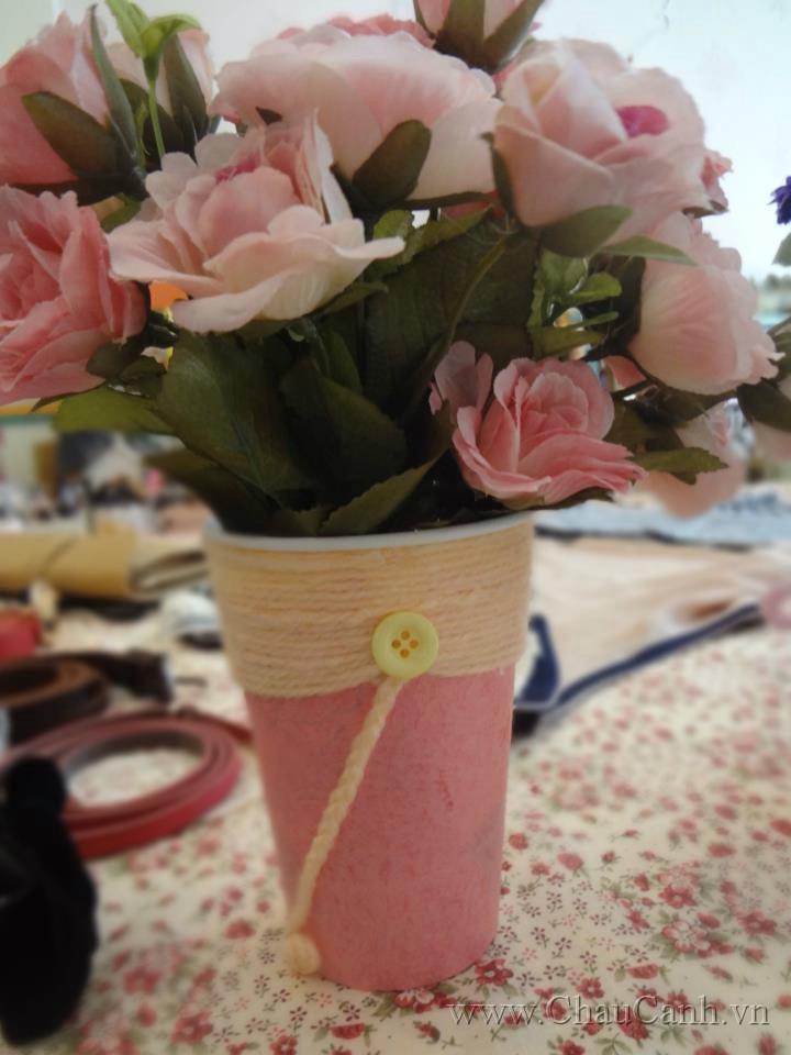 Các mẫu chậu cảnh đẹp handmade giúp nhà bạn trở nên nổi bật hơn